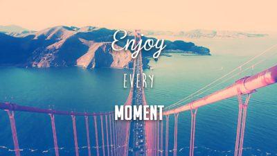 Nautitaan jokaisesta hetkestä pahasta mielestä huolimatta! :) (c) askideas.com